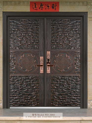 豪华铸铝门
